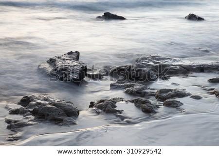 Mist sea Thailand. - stock photo