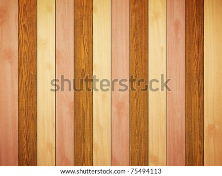Mix color wood background - stock photo