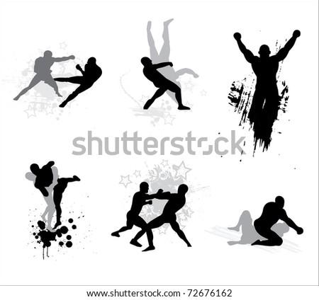 Mixed Martial Arts - stock photo