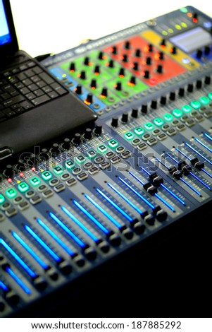 mixing panel is established before performance