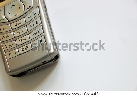 mobile phone # 4 - stock photo