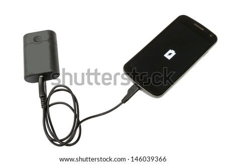 Mobile phone and battery bank
