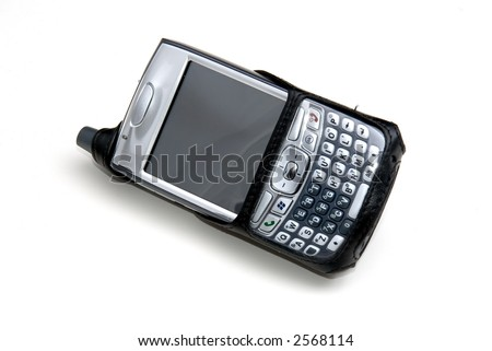 mobile phone/digital assistant - stock photo