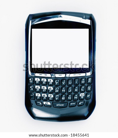Mobile phone pda device - stock photo