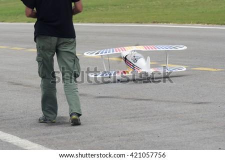 Model Aircraft - stock photo