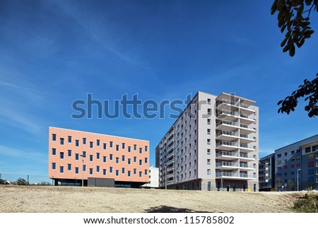 Modern and new apartment - stock photo