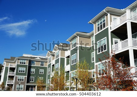 Apartment Building Sunny Day Stock Photo 367497539 - Shutterstock