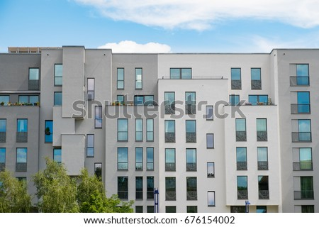 Modern Apartment Building Facade   New Apartment Buildings Exterior