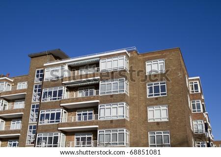Modern Apartments in Richmond, Surrey - stock photo