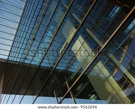 Modern Architecture - CBD - Bank/Business district - stock photo