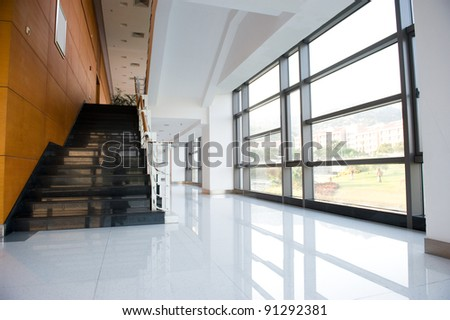 Modern architecture of large business conference center. - stock photo