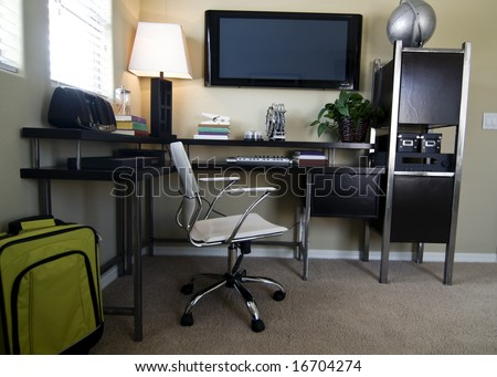 Modern bright entertainment and office space