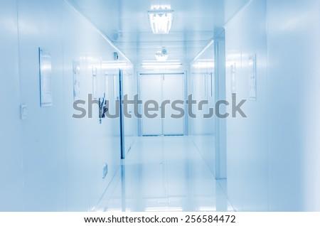 Modern bright  laboratory - stock photo