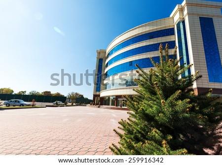 modern building  - stock photo