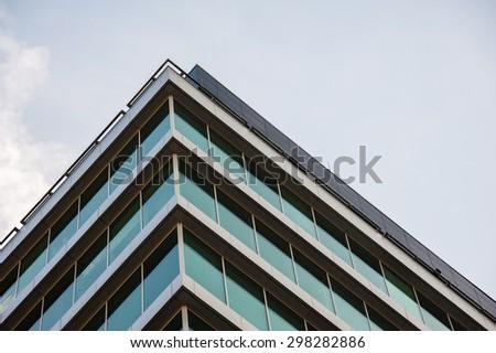 Modern building facade - stock photo