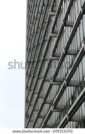 Modern building glass facade  - stock photo