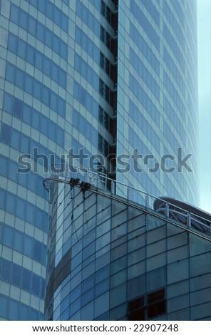 Modern building in Sydney city, Australia - stock photo
