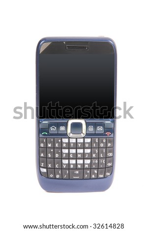 Modern Cellphone - stock photo