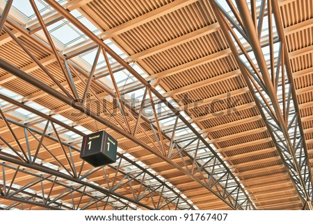 Modern construction of the roof