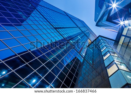 Modern corporate building - stock photo