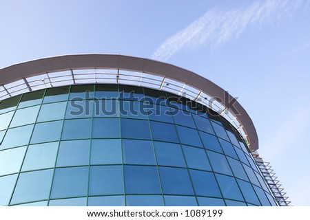 Modern Corporative building, detailed