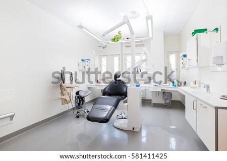 Modern Dental Practice Dental Chair Other Stock Photo