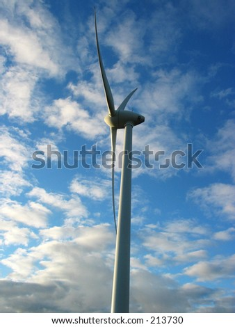 Modern Energy Source - Windmill