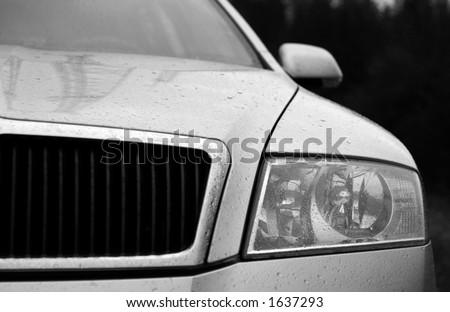 Modern European Car - stock photo