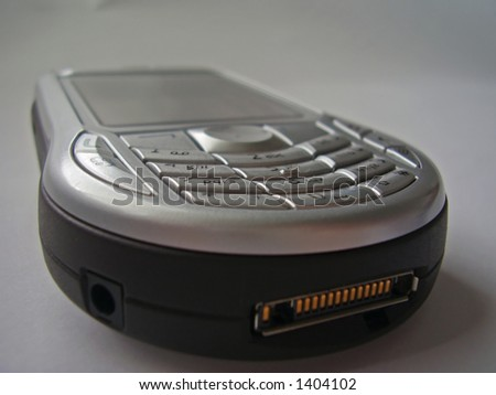 modern, extraurdinary designed mobile phone