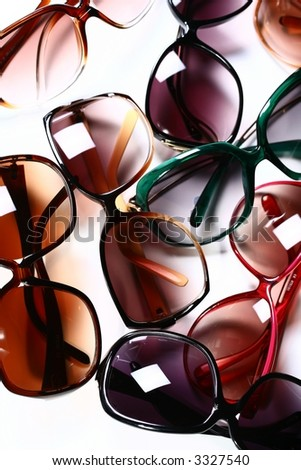 Modern Eyewear - stock photo