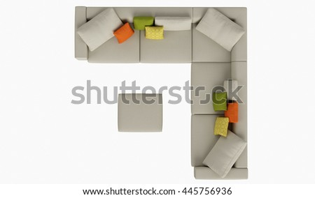 Modern Furniture Top View furniture top view stock images, royalty-free images & vectors