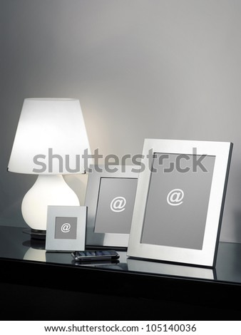 Modern Frames - stock photo