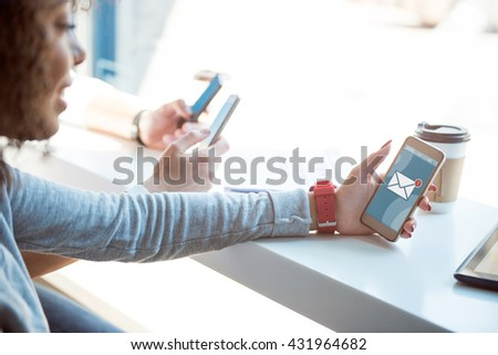 Modern gadgets in our life - stock photo