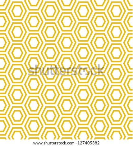 MODERN GEOMETRIC SHAPED PATTERN. Editable repeatable geometric pattern. - stock photo
