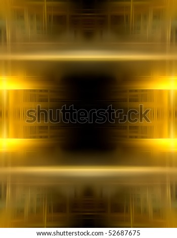 modern geometry background design, Good for text in the center - stock photo