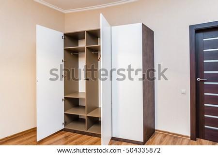 modern glossy cabinet
