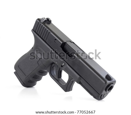 modern handgun, Glock pistol firearm