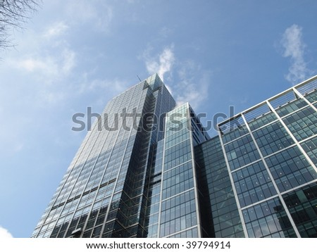 Modern highrise skyscraper architecture - stock photo