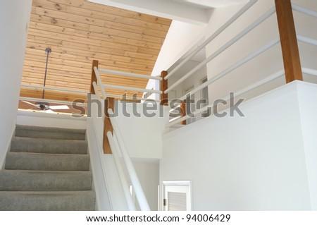 Modern Home Balcony - stock photo