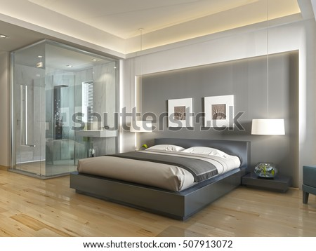 marvellous modern style hotel room bathroom 3d house free | Wall Niche Stock Images, Royalty-Free Images & Vectors ...