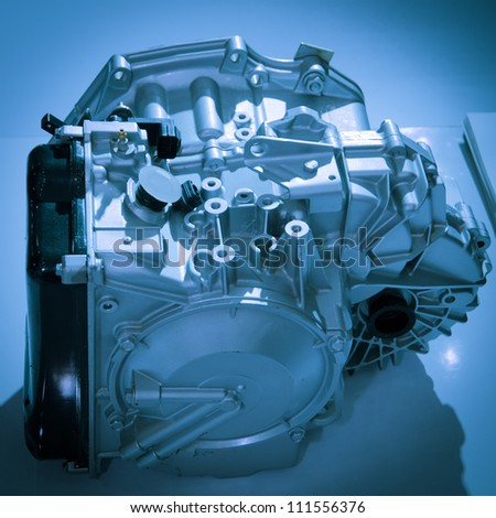 modern industry auto car engine - stock photo
