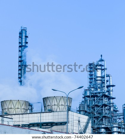 modern Industry, refinery complex