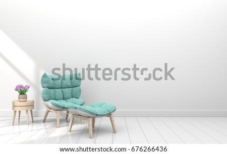 nice furniture for rooms modern interior room nice furniture 3d stock illustration