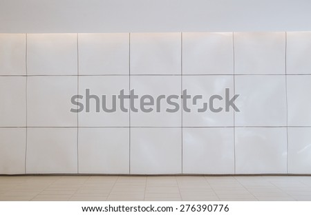 modern interior with nobody and whole blank space  - stock photo