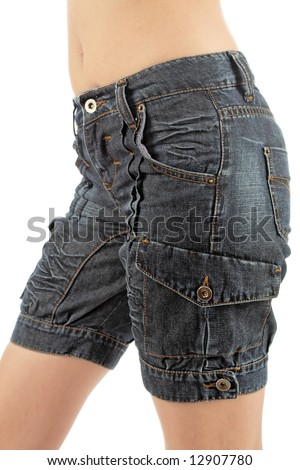 Modern jeans - stock photo