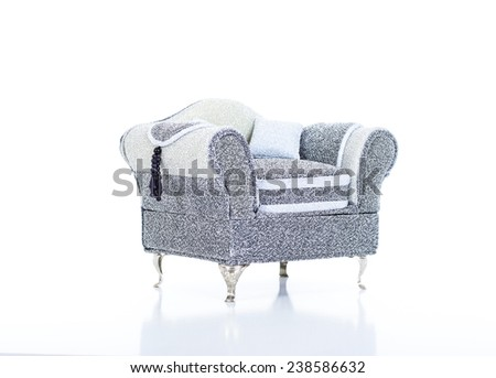 Modern Jeweler sofa - stock photo