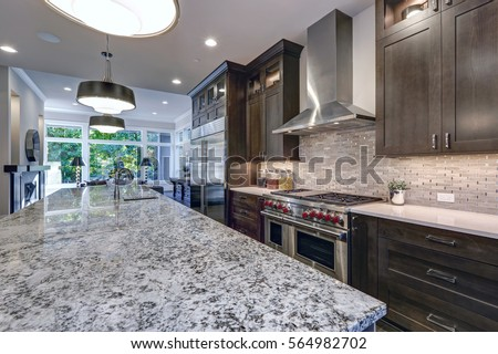 Kitchen Modern Granite granite countertop stock images, royalty-free images & vectors