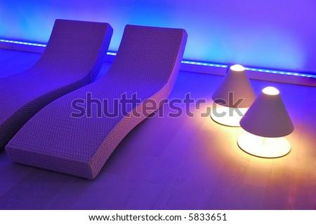 Modern Leisure Interior - stock photo