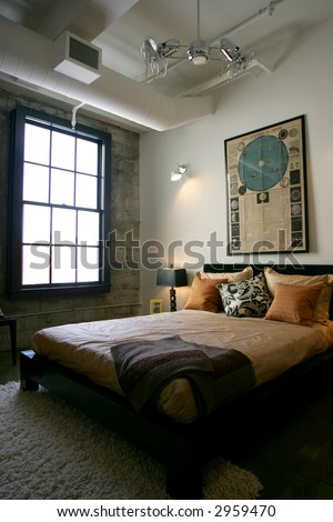 Modern Loft Condo in San Francisco - stock photo