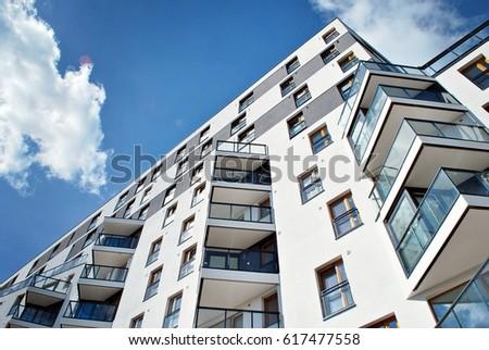 Fancy Apartment Building